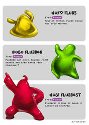 #079 Flubs - #080 Flubber - #081 Flubbest by Ry-Spirit