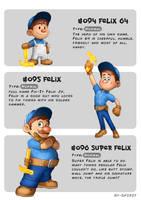 #094 Felix 64 - #095 Felix - #096 Super Felix by Ry-Spirit