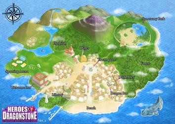 Dragonstone City Map by Ry-Spirit