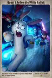 Quest 1: Follow the White Rabbit by Ry-Spirit