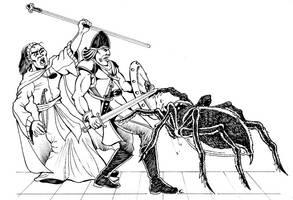 Spider Attack by Scravagghiupilusu959