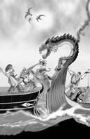 Naval Battle by Scravagghiupilusu959