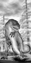 Allosaurus by Scravagghiupilusu959