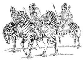 Zebra Riders by Scravagghiupilusu959