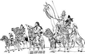 Gray Company Riding by Scravagghiupilusu959