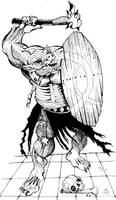 Zombie Troll by Scravagghiupilusu959