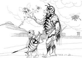 Gorakikki Priest by Scravagghiupilusu959