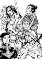 Dragon Lines Heroes by Scravagghiupilusu959