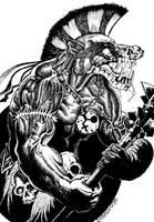 Troll Berserker by Scravagghiupilusu959