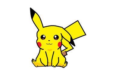 Pikachu by Pencilshy1