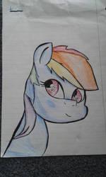 Rainbow dash by Pencilshy1