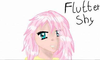 Fluttershy as a Manga by Pencilshy1