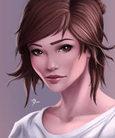 Girl Portait by Leo-25