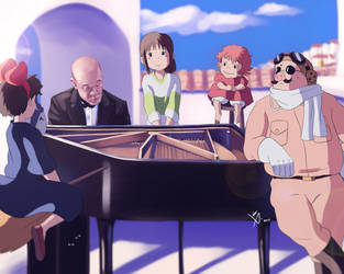 Joe Hisaishi by Leo-25