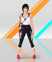 Faith Connors - Mirror's Edge 3 design (fan-made) by Leo-25