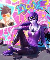 Widowmaker Graffiti by Leo-25