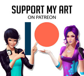Support my Art on Patreon !! by Leo-25