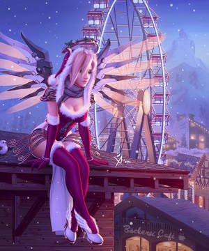 Mercy the Christmas Angel by Leo-25