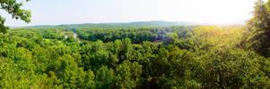 Castlewood Panorama by SpAzZnaticShuRIken