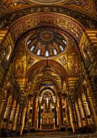 Inside the Cathedral Basilica by SpAzZnaticShuRIken