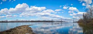 Missouri River Panorama by SpAzZnaticShuRIken
