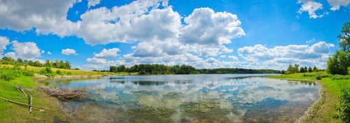Lake 37 Panorama by SpAzZnaticShuRIken