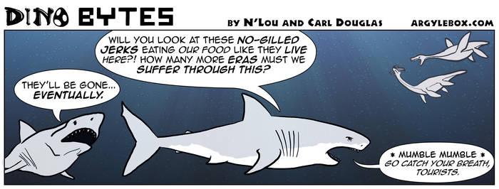 Dino Bytes - Sharky by CeeEmmDee