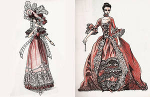 18th and 19th Century by cassiesillustrations