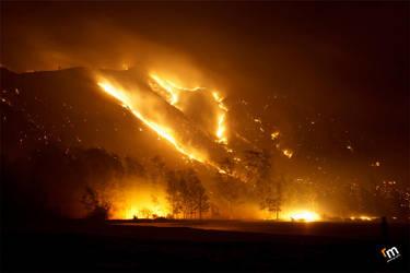 Nagsasa Bush Fire by Rodelicious