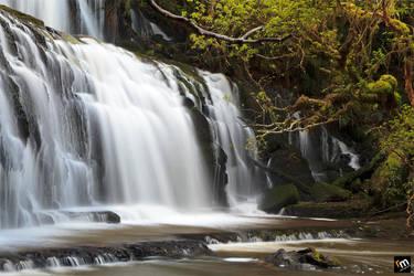 The Catlin's Purakaunui Falls by Rodelicious
