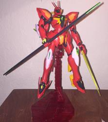 Gundam kitbash: XVMT-AVT Ghidra by Awesomeeleking5