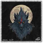 Day31: A werewolf named Slice by Wyndagger