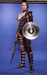 Gladiatrix in Leather 4 by ghosttrin