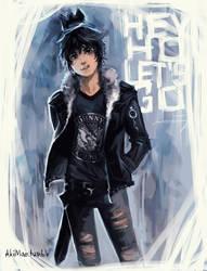 Punk Ghost King by AkiMao