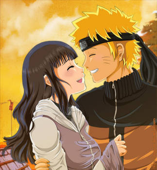 Peaceful Times - NaruHina by Angywis