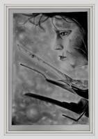 Edward ScissorHands by Oscarliima