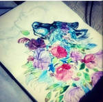 New Drawing In Process by Oscarliima