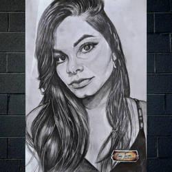 Samyla Alves by Oscarliima