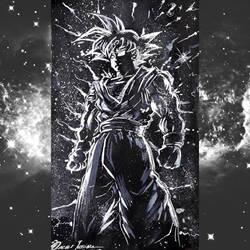 Goku Noir by Oscarliima
