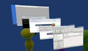 Windows Vista ... andLinux by weirdMushroom