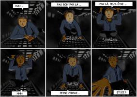 Comic page 1 - untitled by weirdMushroom