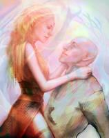 DAI: Elf girl and the egg by Faietiya