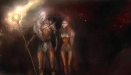 DAI Into darkness by Faietiya