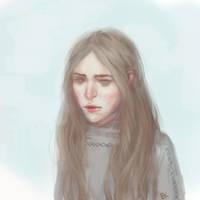 FP Sad girl by Faietiya