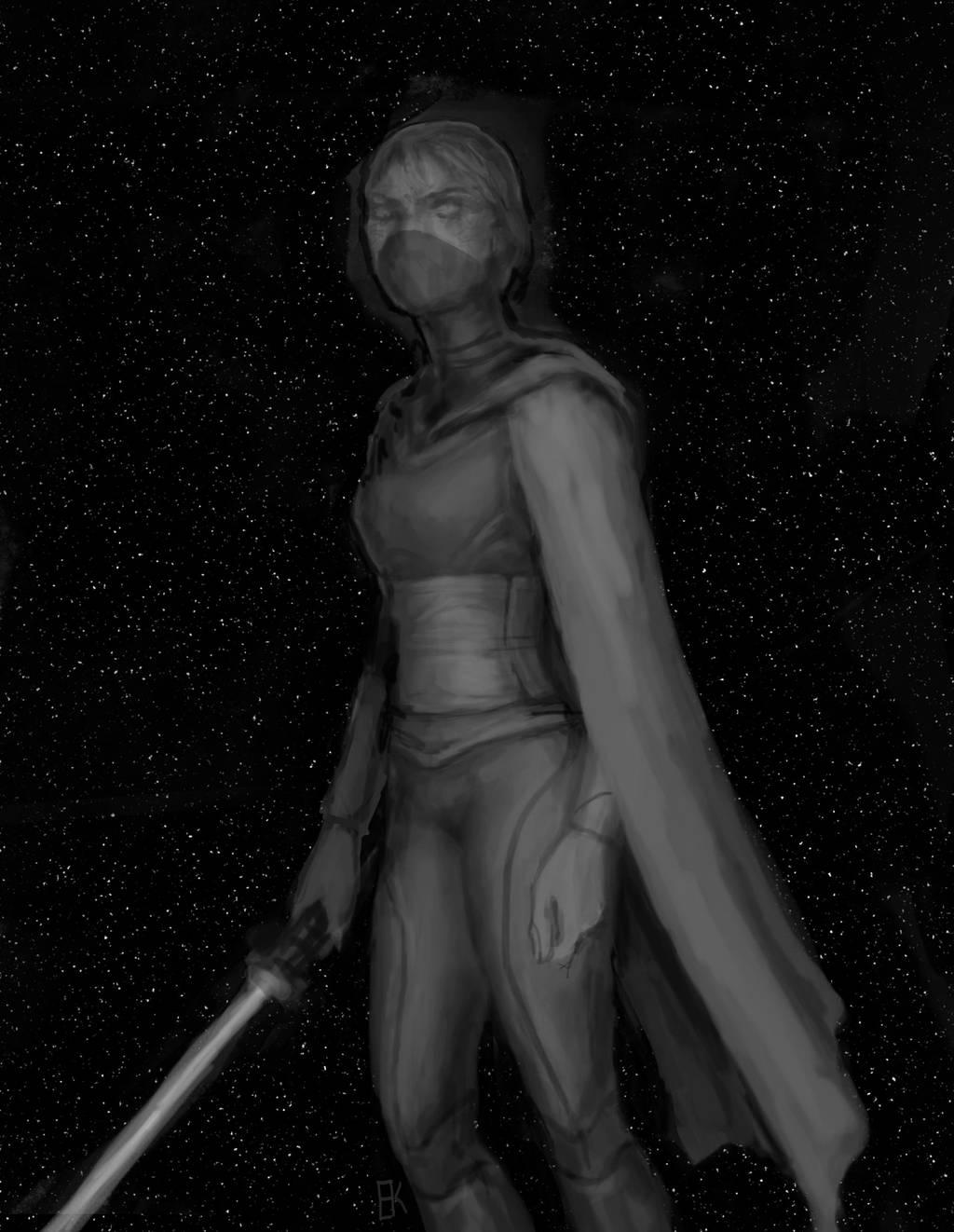 Dark Meetra by Faietiya