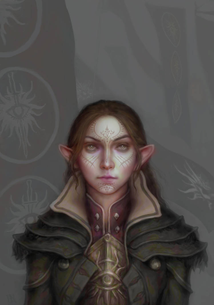Inquisitor Lavellan by Faietiya