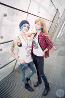 Chloe and Rachel I by showdown01