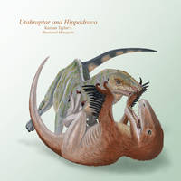 Utahraptor and Hippodraco by IllustratedMenagerie