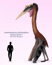 Arambourgiania philadelphiae by IllustratedMenagerie