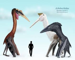 My Azhdarchidae by IllustratedMenagerie